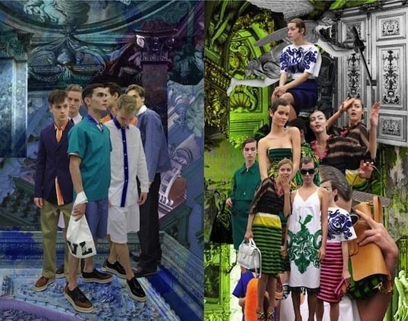 Изображение 1. Prada Fantasy Lookbook SS 2011.. Изображение № 2.
