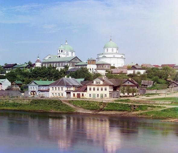 Цветные фотографии России в период с 1904-1916. Изображение № 20.