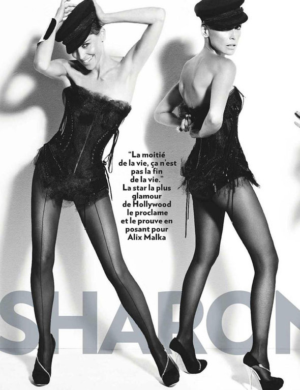 Sharon Stone for Paris Match. Изображение № 2.