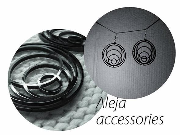 Aleja accessories - серьги из акрила. Сам себе дизайнер. Изображение № 6.