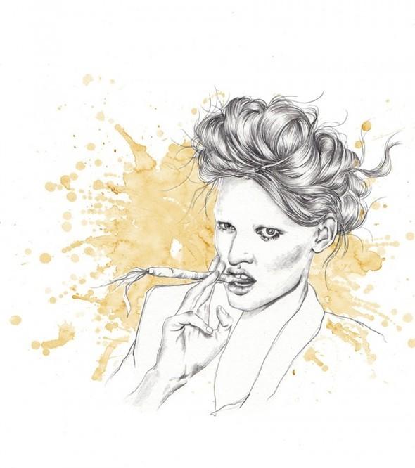 Иллюстратор Esra Roise. Изображение № 19.