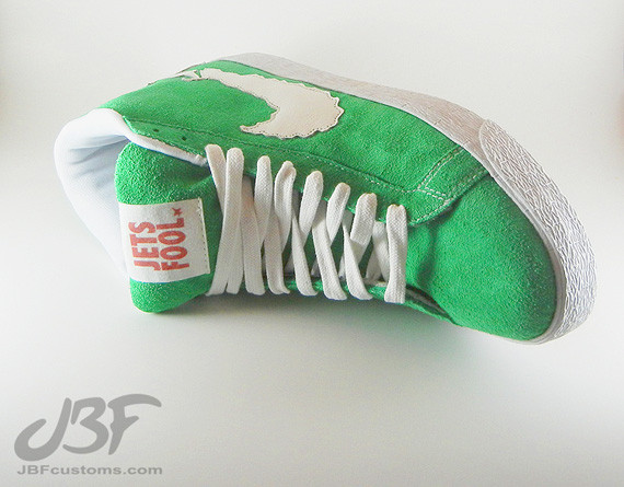 Nike Blazer Mid Jet Life II кастом от JBF. Изображение № 6.