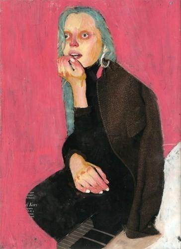 Абсурдные и привлекательные портреты Хуима Тио. Изображение № 10.