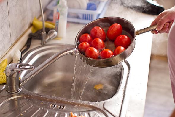 Овощное рагу, гаспачо, греческий салат: Настоящий осенний обед. Изображение № 11.