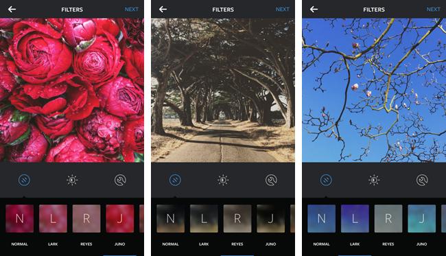 В Instagram появились три новых фильтра . Изображение № 2.
