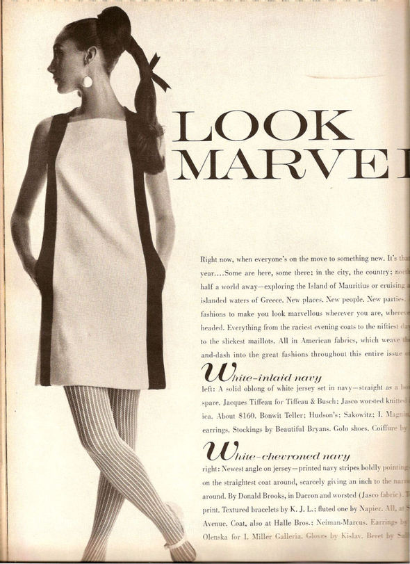 «Выгляди великолепно» каквVogue 1967 года. Изображение № 1.