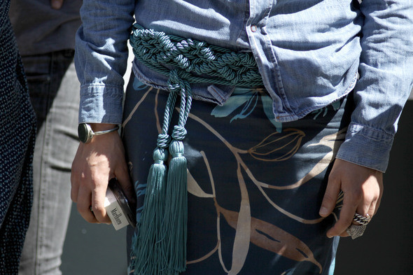 Изображение 14. Milan Fashion Week в деталях: день 2.. Изображение № 13.