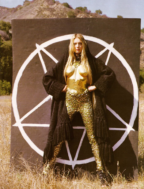 French 'Vogue': Devil Worship Is The New Black!. Изображение № 5.