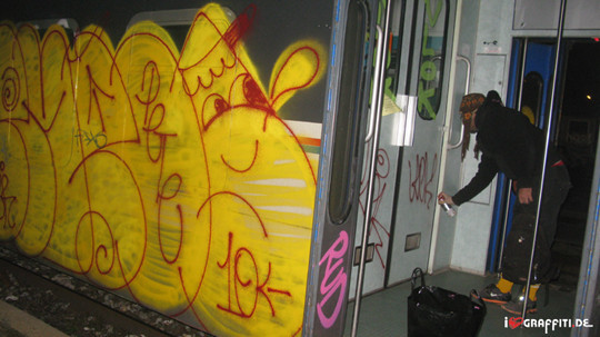 Граффити художники Os Gmeos о творческом пути. Изображение № 20.