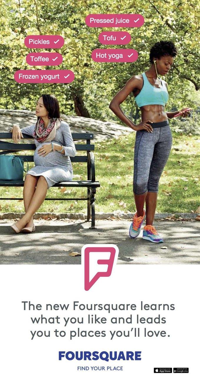 Foursquare запустил первую рекламную кампанию. Изображение № 3.