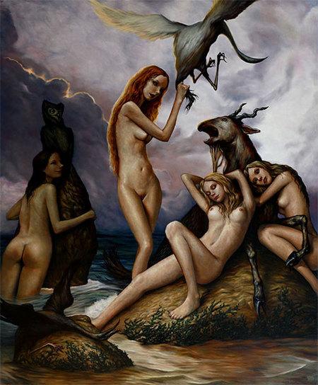 Страшное икрасивое вкартинах Andrew Esao. Изображение № 11.