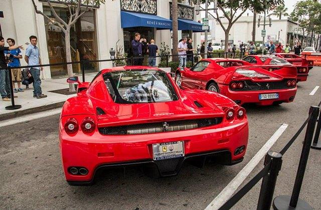 Фото: выставка суперкаров Ferrari в Беверли-Хиллз. Изображение № 6.
