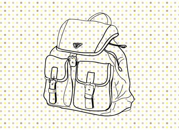 Рюкзак Prada. Изображение № 8.