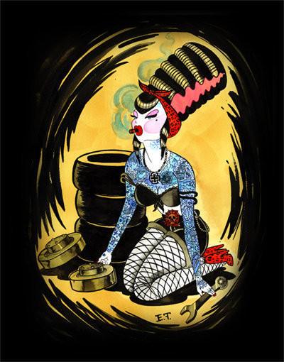 Изображение 16. Маленькие Мамочкины Монстры от Emily Thomas.. Изображение № 4.