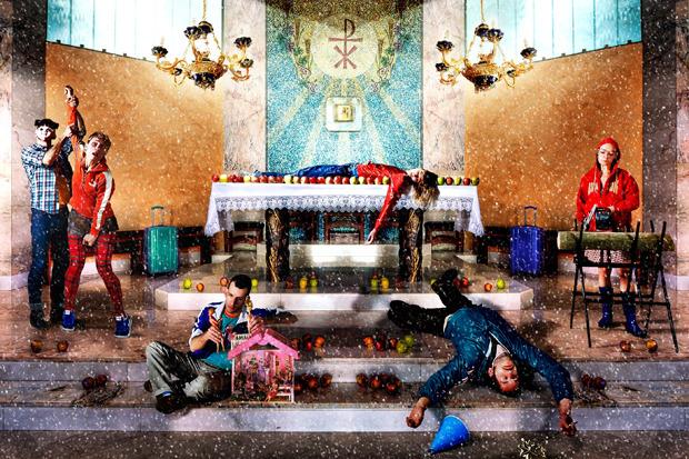 Cпектакль «БезГриммье». Фотография: Daniele & Virginia Antonelli. Изображение № 4.