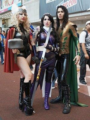Как прошёл гик-фестиваль NYC Comic-Con  в Нью-Йорке. Изображение № 29.