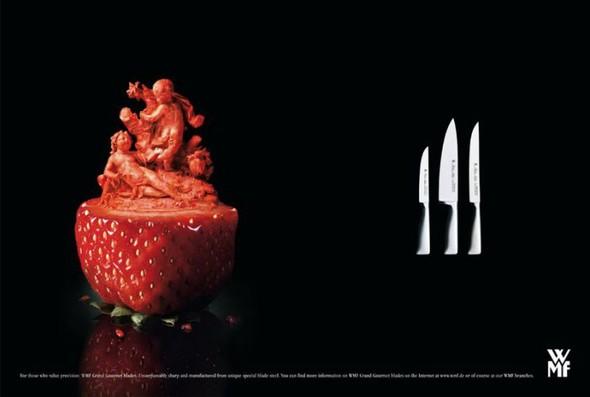 Креативная реклама ножей. Изображение № 2.
