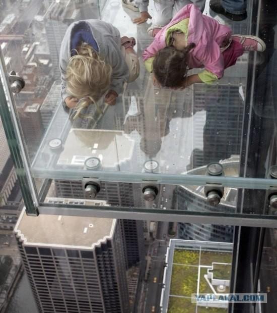 Смотровая площадка насамом высоком небоскрёбе США. Изображение № 6.