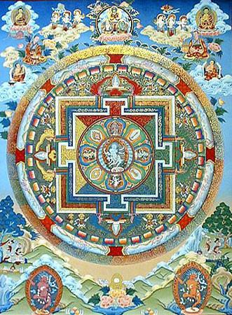Мандалы – дворцы дляпросветленных существ. Изображение № 1.