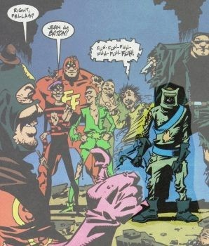 Section Eight - команда нелепых супергероев. Изображение № 3.