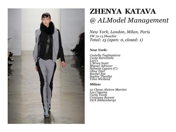 Al Model Management: Сезон показов осень-зима 12.13. Изображение № 10.