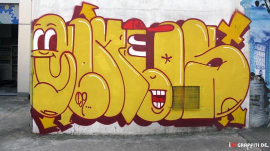 Граффити художники Os Gmeos о творческом пути. Изображение № 8.