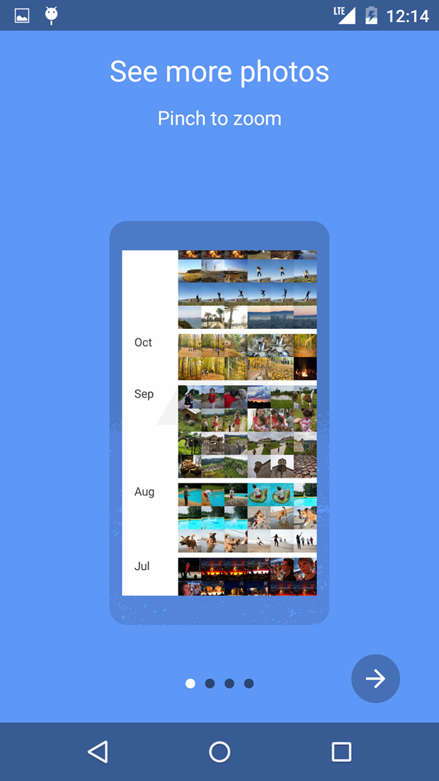 СМИ выложили скриншоты приложения Google для фотографий . Изображение № 7.