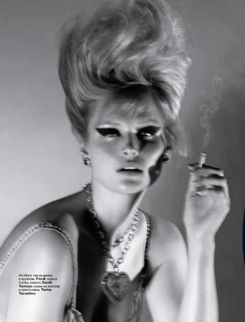 Русский Vogue: отныне в моде девушки с формами. Изображение № 1.