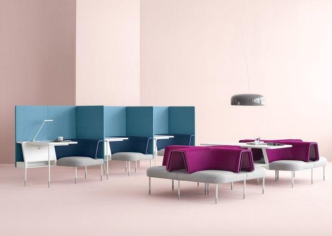 Herman Miller начал выпуск «гибкой» офисной мебели Ива Беара. Изображение № 7.