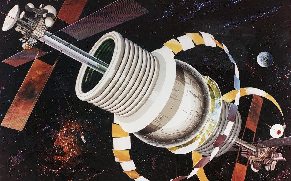 Рай не на земле: Какими в NASA представляли космические колонии будущего. Изображение № 2.