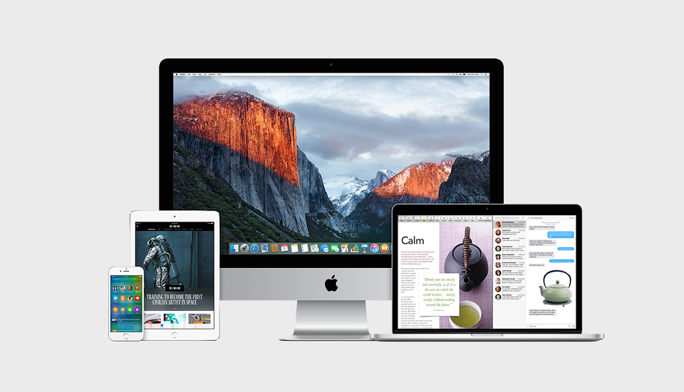 Что нового в iOS 9 и Mac OS X El Capitan