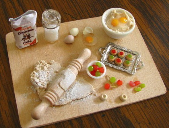 Еда в миниатюре. Изображение № 22.