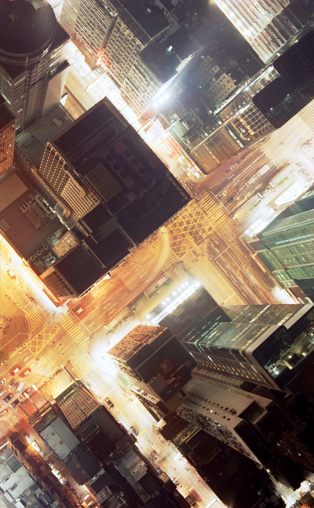 Мегаполисы ночью Гонконг, Дубаи, Нью-Йорк, Шанхай. Изображение № 6.