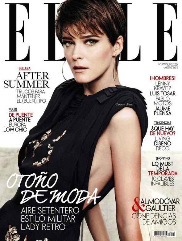 Обложки: Vanity Fair, Marie Claire и Elle. Изображение № 2.