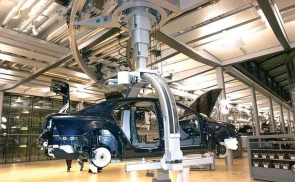 Стеклянная мануфактура Volkswagen. Изображение № 10.