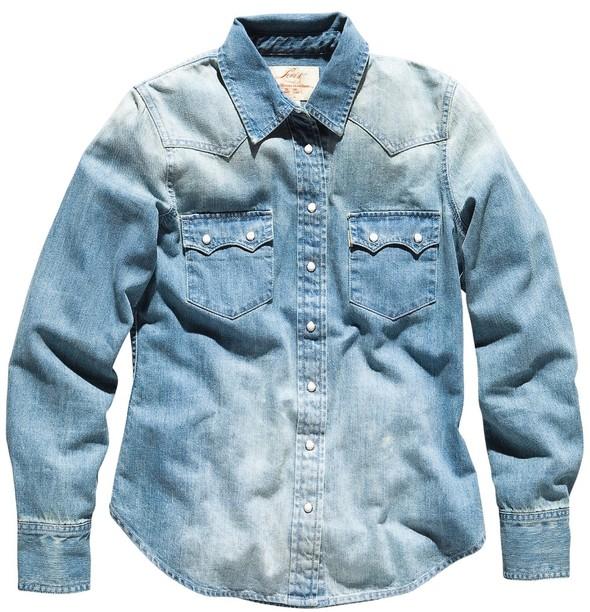 Джинсовое вдохновение: рубашка. Изображение № 19.