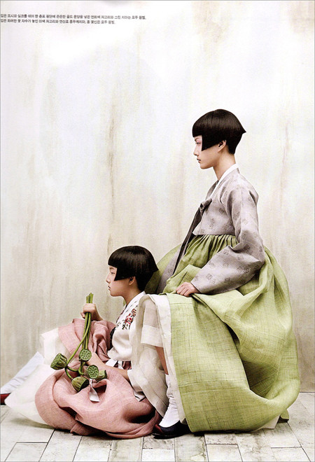 The Grace of the HanBok (Vogue Korea October 2007). Изображение № 5.