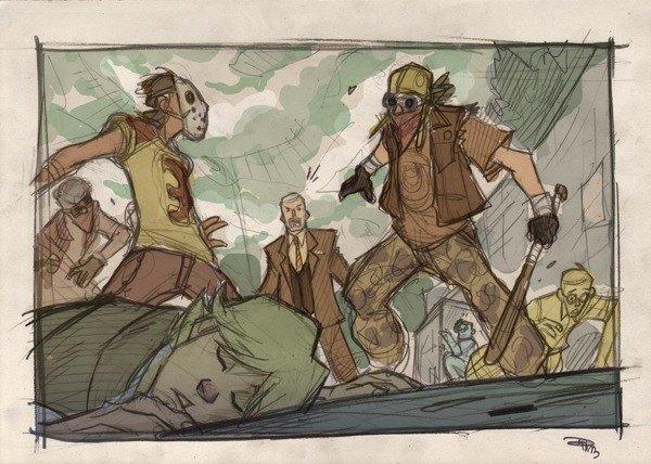 Дизайнер представил героев «Звёздных войн» в стиле 80-х. Изображение № 21.