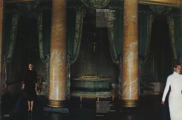 Первый номер Vogue Russia. PART 2. Изображение № 14.