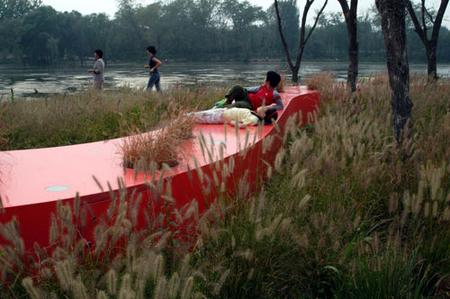 RedRibbon великая китайская скамья. Изображение № 7.