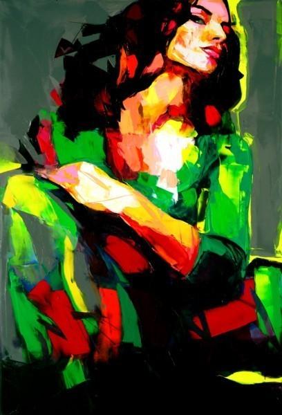 Красочные портреты Франсуазы Нилли. Изображение № 12.