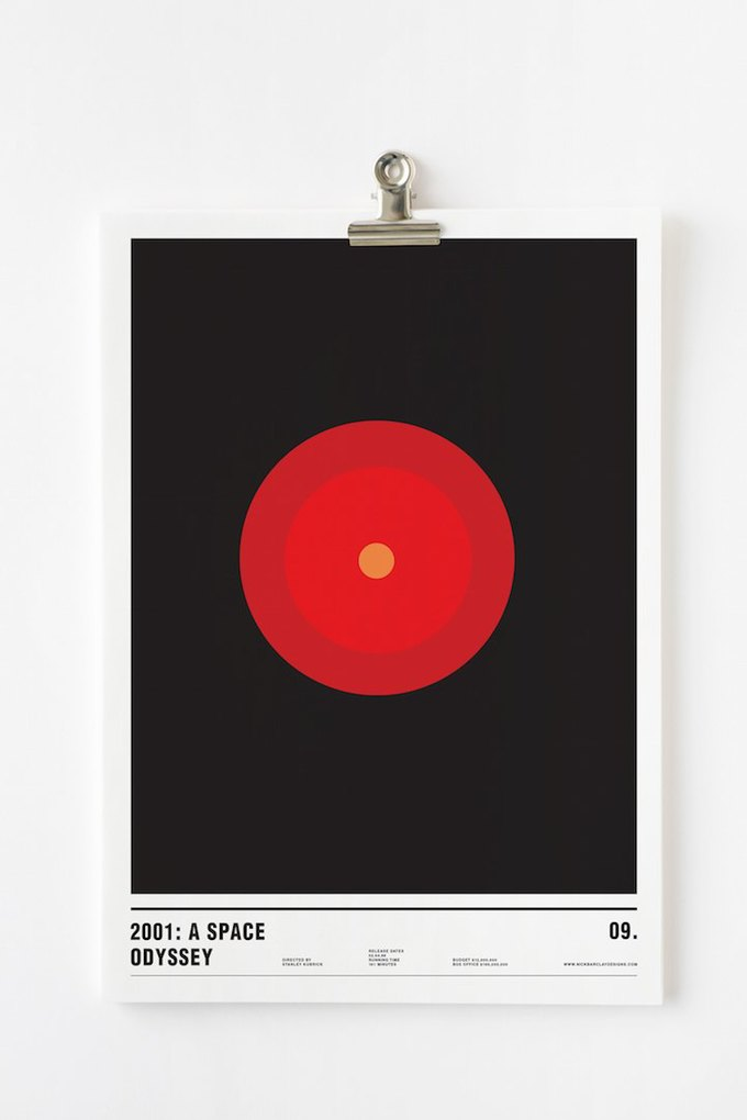 Концепт: постеры к фильмам только из кругов . Изображение № 11.