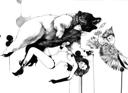 Иллюстрации Дэйвида Брэя грация исексуальный подтекст. Изображение № 28.