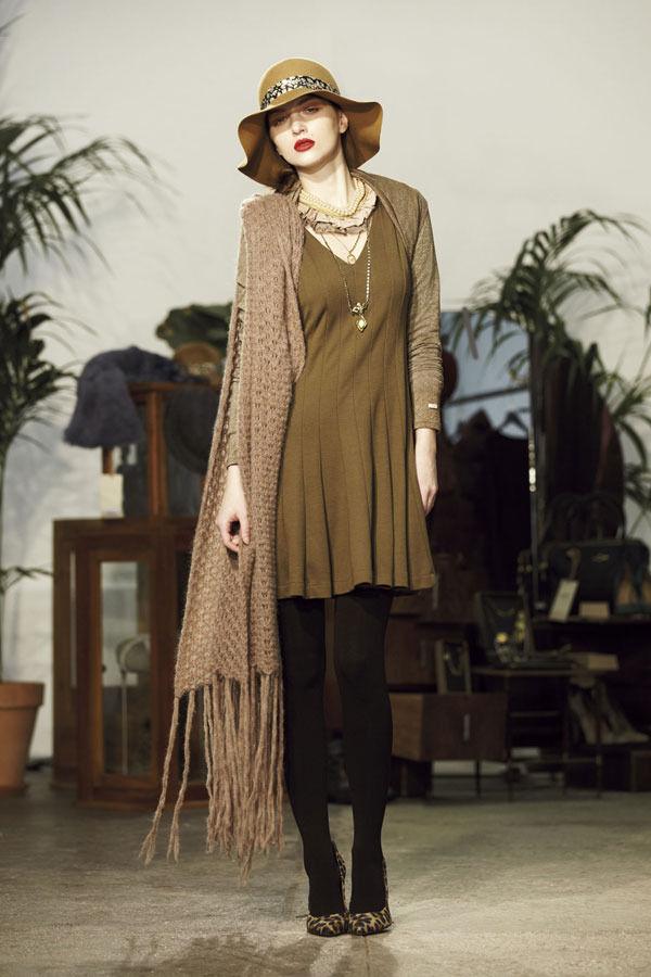 Ретро всегда в моде. Aniye By, осень-зима 2012/13. Изображение № 23.