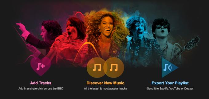 BBC запускает музыкальный сервис Playlister. Изображение № 1.