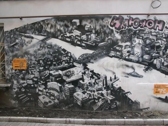 Граффити Петербурга. Изображение № 13.