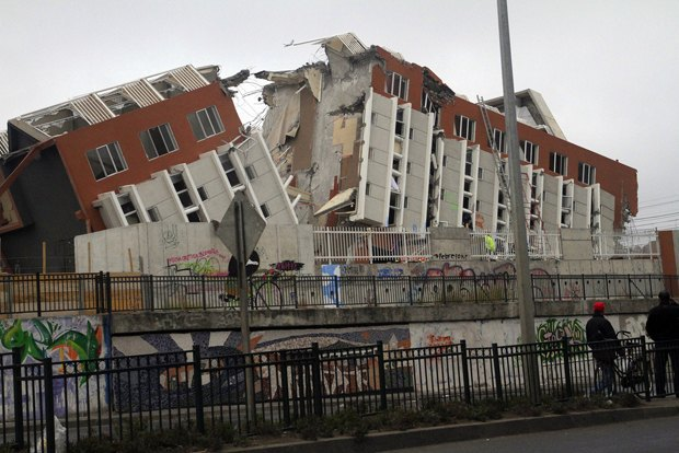 Последствия землетрясения в Чили в 2010 году. Изображение № 1.