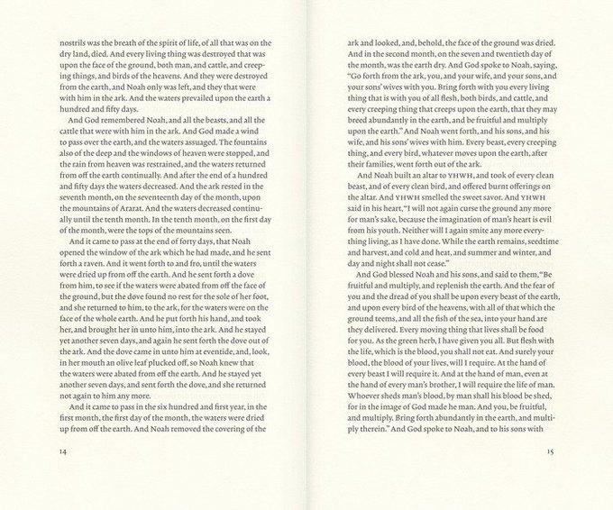 На дизайнерское переиздание Библии собрали полмиллиона долларов. Изображение № 3.