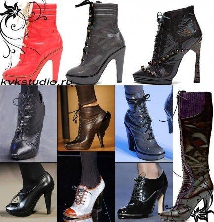 Обувь осень-зима 2008–2009. Изображение № 3.