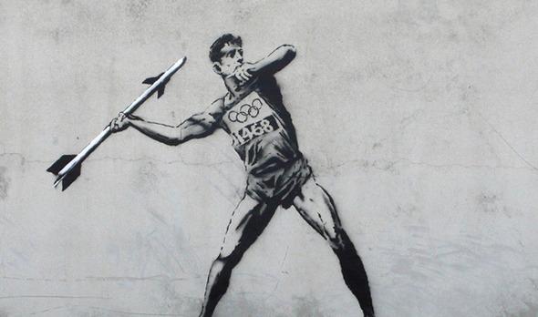 Значит война: Олимпийские игры Бэнкси. Изображение № 1.